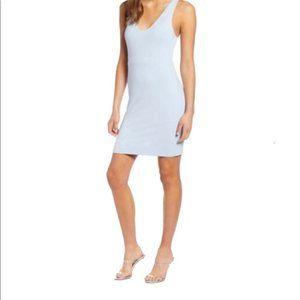Leith Blue Racerback Body-Con Dress